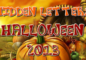Photo Jeu Lettres Cachées halloween