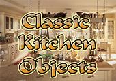 Objets cachés de cuisine