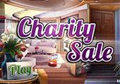 Objets cachés pour vente de charité