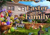 Pâques en famille.