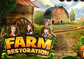 Restauration d'une ferme pour vivre à l'ancienne
