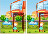Différences: Jeux après l'école