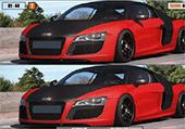 5 différences et voitures