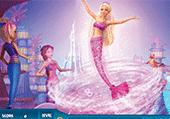 Numéros cachés avec Barbie sirène