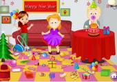 Range le salon après le nouvel an