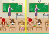 Chercher Différences à l'école