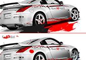Différences belles voitures sportives