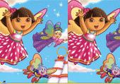 Dora vole
