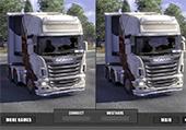 Différences et camions