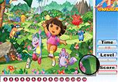 Numéros cachés avec Dora