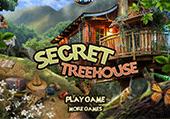 Maison dans les arbres et un secret