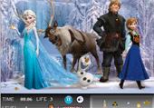 Les objets cachés d'Anna et Elsa