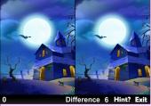 5 Différences pour Halloween