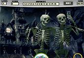 Squelettes d'Halloween