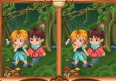 Histoire Hansel et Gretel Différences