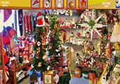 Objets de Noël dans magasins