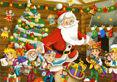 Numéros Cachés de Noël