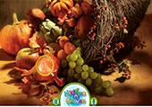 Numéros cachés dans fruits
