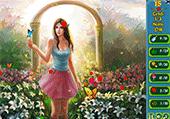 Cherche dans des jardins enchantés