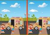 Différences au camion de glace