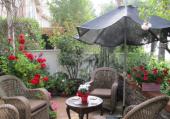 Portions d'image : la terrasse