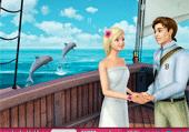 Barbie sur un navire