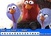 Lettres et oiseaux