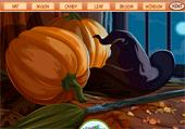 Lettres d'Halloween cachées