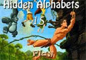 Lettres cachées et Tarzan