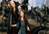 Lettres de l'alphabet dans des photos de Narnia