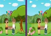 Cinq Erreurs à Trouver au Parc