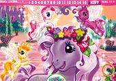 Chiffres cachés avec My Little Pony