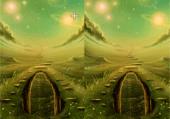 Paysages verts