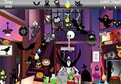 Objets cachés dans maisons d'Halloween