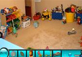 Jouets à trouver dans chambres d'enfants