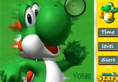 Etoiles à retrouver avec Yoshi