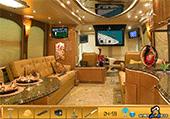 Objets dans bus luxueux