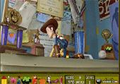 Objets cachés avec Woody