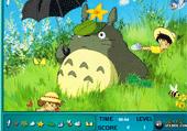 Jeu avec Totoro
