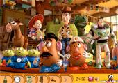 Trouve les jouets de Toy Story