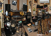 Objets cachés dans salle de musique