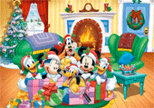 Lettres cachées : Mickey et ses amis
