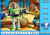 Toy story et les lettres cachées
