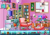 Recherche d'objets cachés dans des chambres
