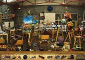 10 Objets dans l'Atelier de Peinture