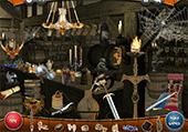 Objets cachés dans une taverne