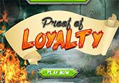 Preuve de loyauté