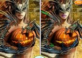 Filles d'Halloween