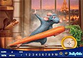 Numéros cachés avec Ratatouille