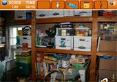 Objets cachés dans pièces de la maison
